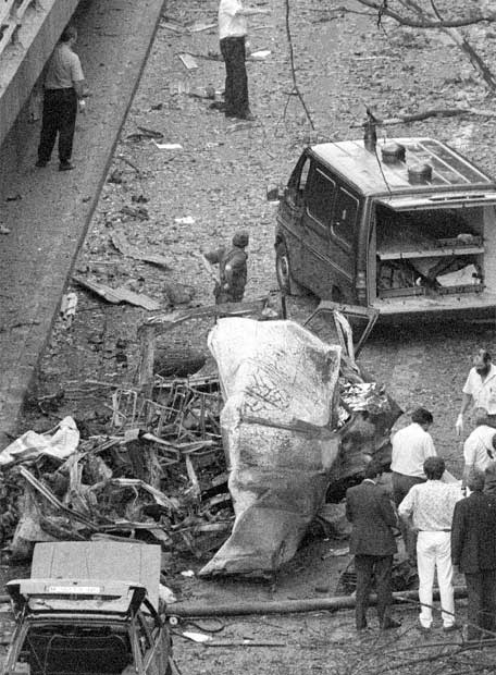 21 de junio de 1993, atentado de ETA en Madrid