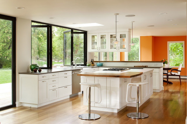 Boulder indoor/outdoor living remodel - traditional - kitchen ...