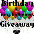Birthday & 100+ Followers Giveaway!