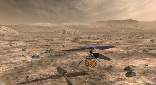 NASA To Send a Dronecopter to Mars in 2020