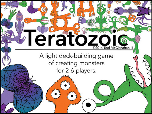 Teratozoic – A card game of creating monsters