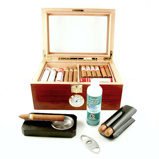 HUMIDOR KIT - Humidor Starter Kit - Cigar Star Everything You Need