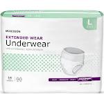 McKesson Extended Wear Incontinence Underwear, 14/BG