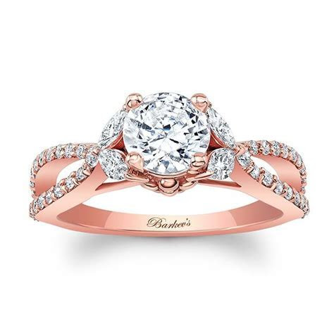 Barkev's Rose Gold Engagement Ring 8062LP   Barkev's
