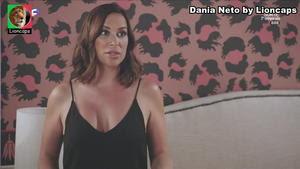 Dania Neto sensual na novela Vila Faia