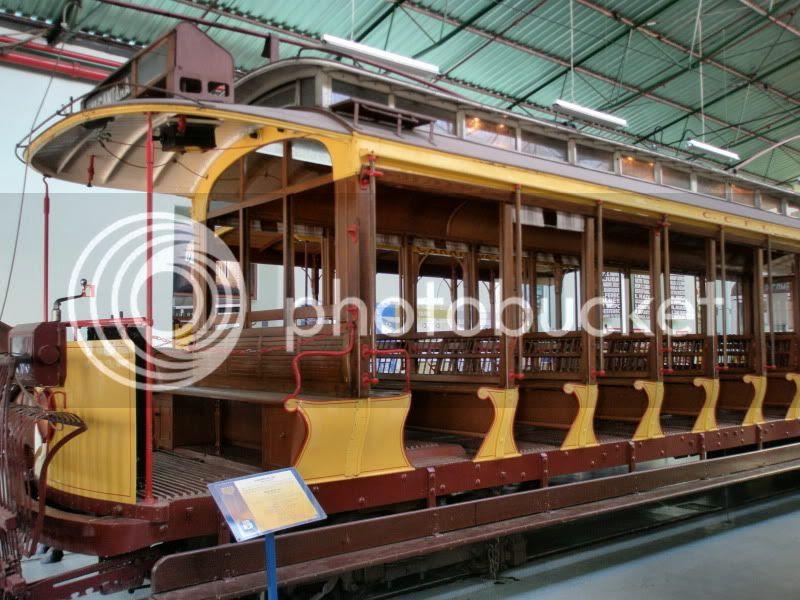 Uno de los primeros tranvías