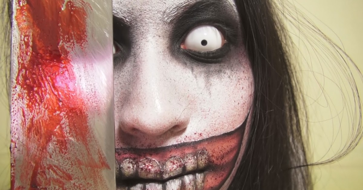 kumpulan jeff the killer makeup tutorial dismakeup