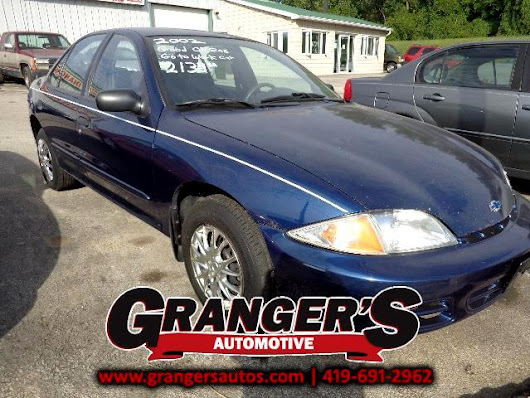Used 2002 Chevrolet Cavalier for Sale in Toledo OH 43605 Granger's Automotive