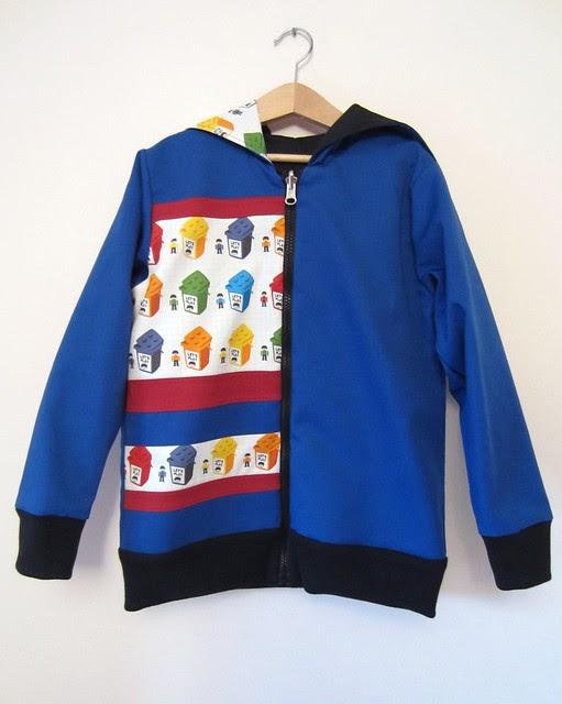 lego hoodie full blue
