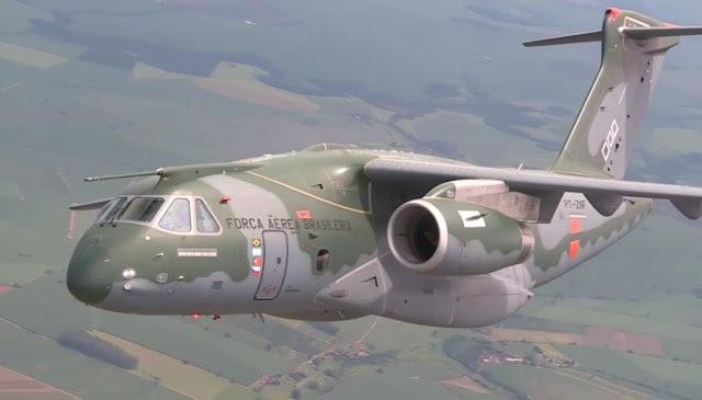 KC-390 - cena 8 video Conexao FAB mar2016