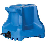 Little Giant APCP-1700 Automatic 1700 GPH Swimming Pool Winter Cover Water Pump by VM Express