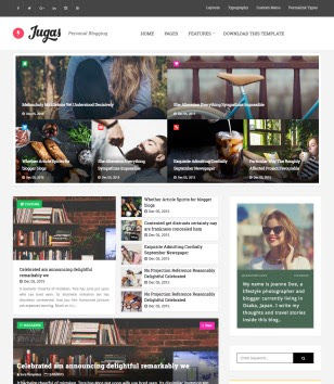 Jugas Blogger Templates