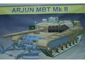 Arjun Mk.II. Изображение с сайта livefist.blogspot.com