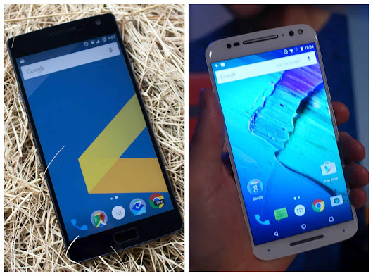 Phone Comparisons: OnePlus 2 vs Moto X (2015) | Androidheadlines.com