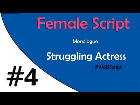 Struggling Actress Audition Script 4