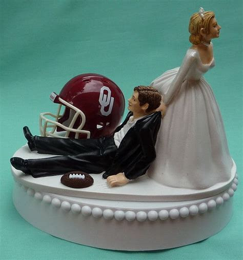 Wedding Cake Topper University of Oklahoma Sooners by