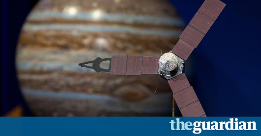 Juno probe: Nasa spacecraft successfully enters Jupiter's orbit – live | Science | The Guardian