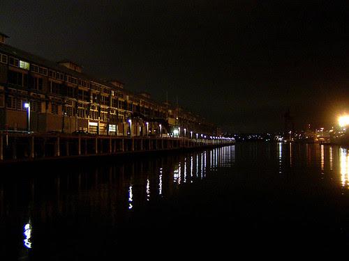 Night wharf