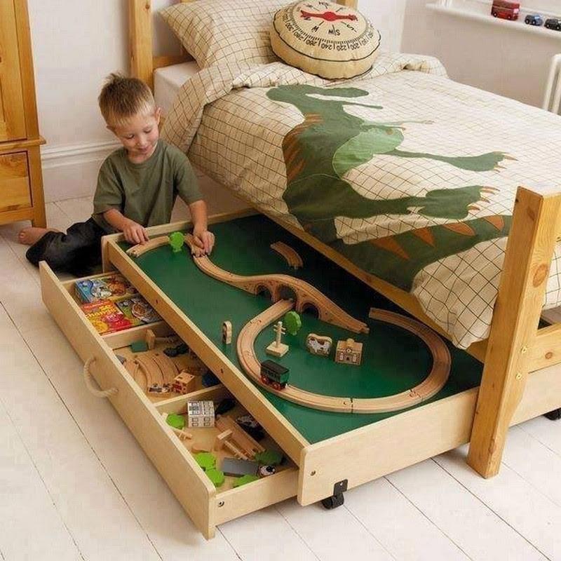 ideas para ahorrar espacio en el cuarto de los niños