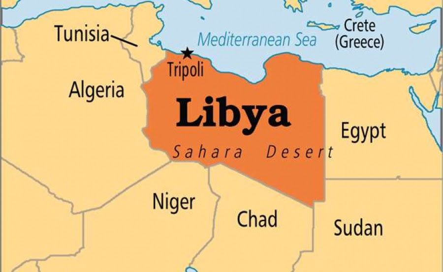 Αποτέλεσμα εικόνας για χαρτης Λιβύης