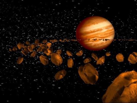 Trojian-asteroids