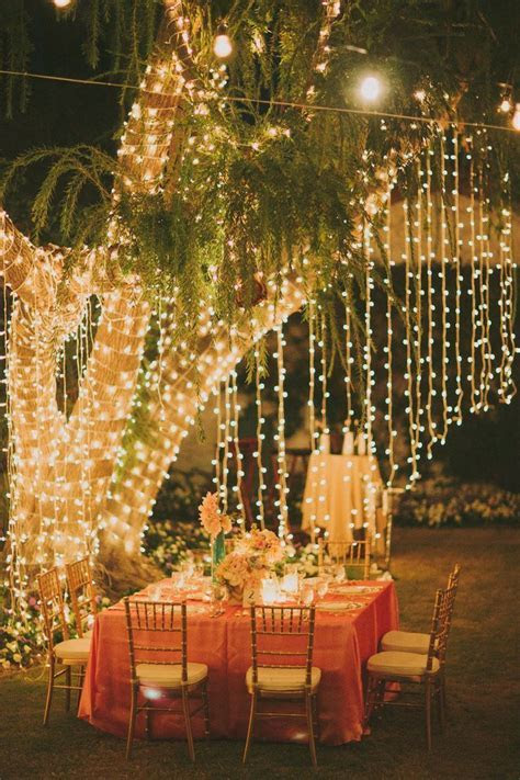 fall wedding idea reception ideas for lighting and diy