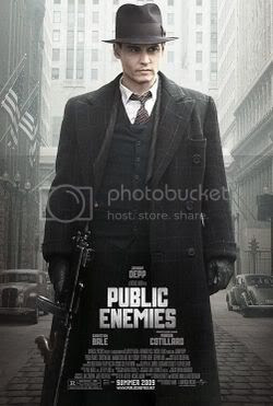 Public Enemies Stars Johnny Depp as John Dillinger