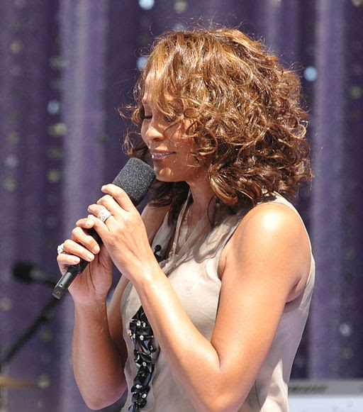 Flickr Whitney Houston performing on GMA 2009 1