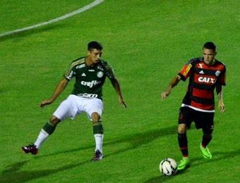 Palmeiras x Flamengo Brasileiro sub-20 (Foto: Danilo Sardinha/GloboEsporte.com)