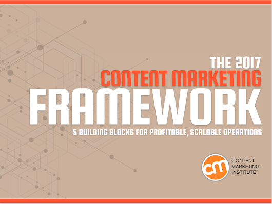 New Framework for Strategic Content Marketing