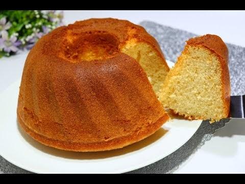 كيكة الخلاط الاسفنجية ب 2 بيضة فقط هشة ومرتفعة ومع كاسة الشاي ولا اطيب