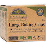 If You Care Baking Cups, Large - 60 cups