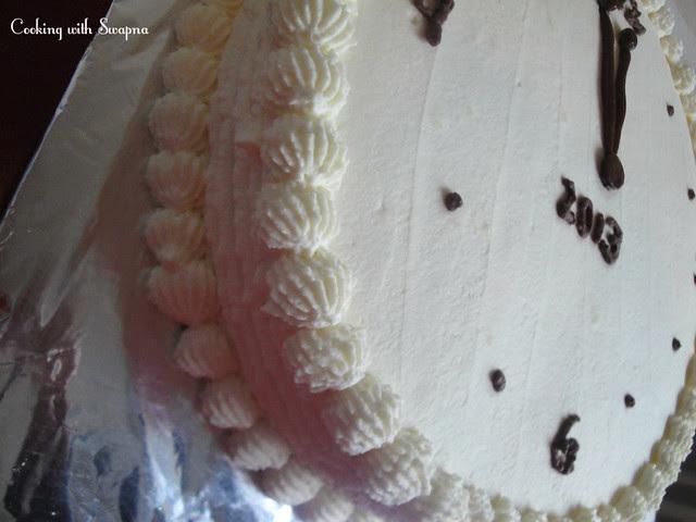 clock cake 2