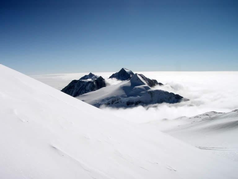 Vinson Massif in Antarctic