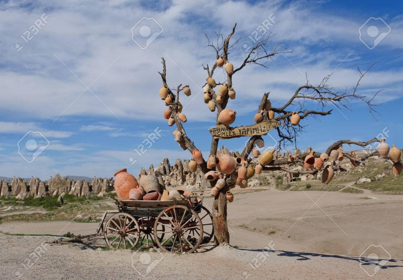 Image result for cappadocia clay pots