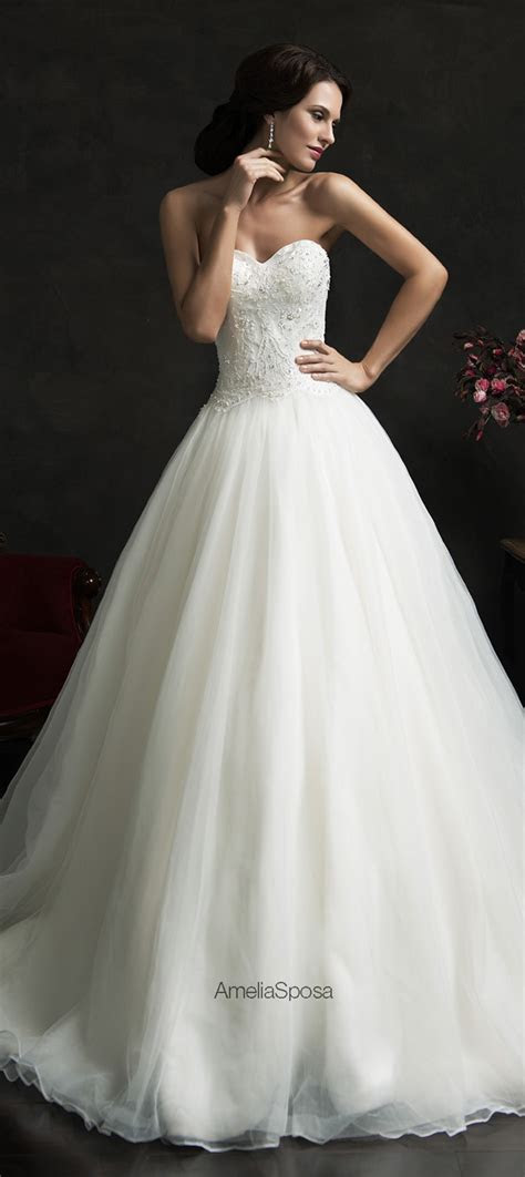Amelia Sposa 2015 Wedding Dresses   Belle The Magazine