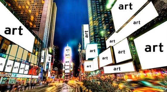 Times Square as Art Square?