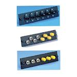 FiberOpticx Adapter Plate - ST to SC - 6 Port Multimode / Singlemode -