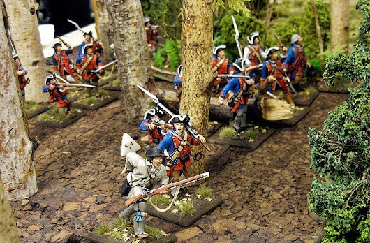 Blooding at Jenkins Ford | Military Miniatures H.Q.