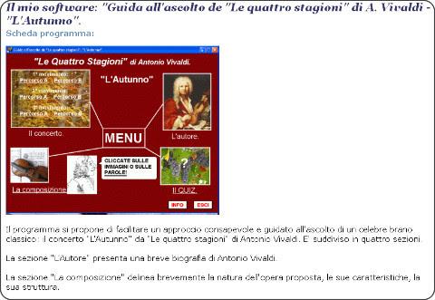 http://www.softwaredidatticofree.it/schedaautunnovivaldi.htm