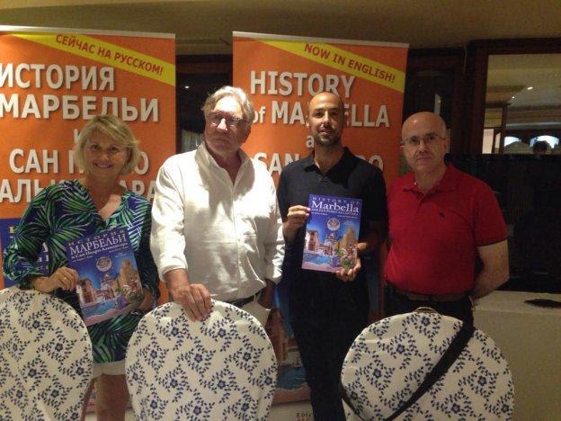 Imagen de la presentación del libro. :: josele-lanza