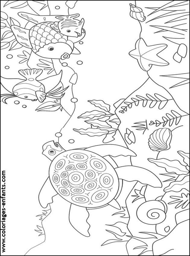 Coloriage De Poissons à Imprimer De Coloriages Enfants