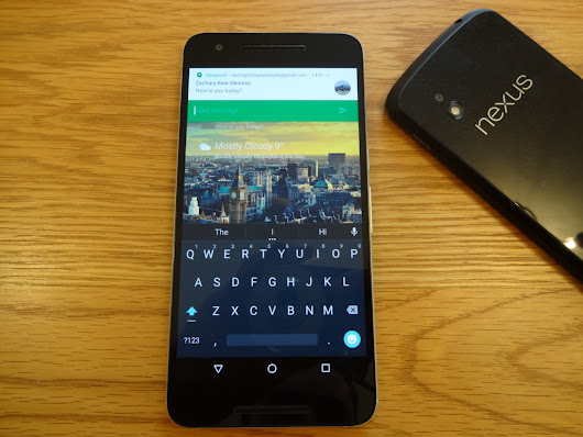 N Is For New: Android N Quick Reply