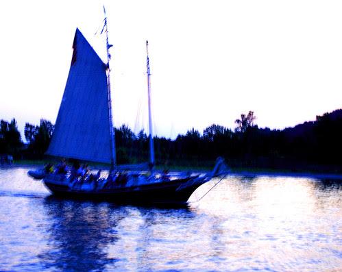 Pirates at dusk
