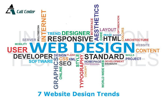 7 Web Design Trends That Will Be Prevalent In 2016 - A1 call center