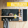 Make your own chalkboard organizer - Maids a la Mode