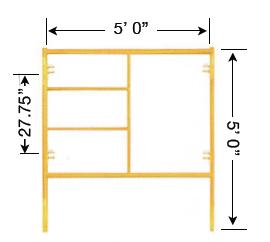 Biljax Style Scaffolding Frames Scaffold Frame Systems Steel