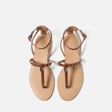 sandalias verano zara