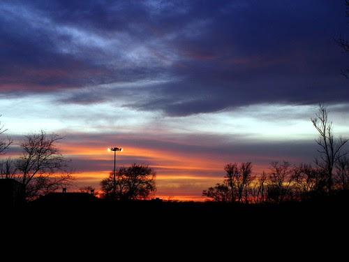 4.1.2010 Hickory Hills Sunset