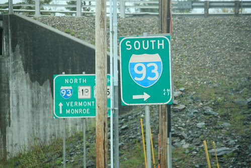 Older South I-93 Shield